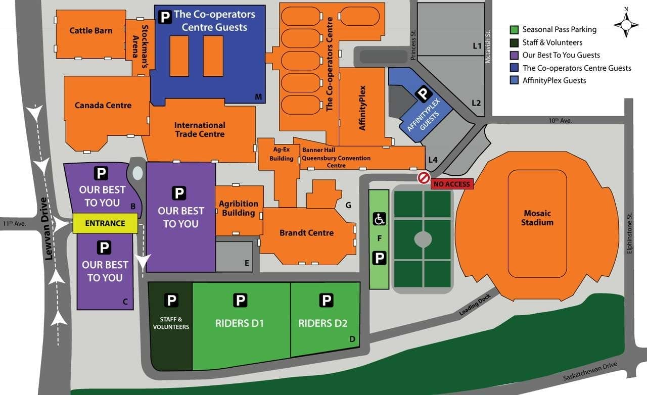 Evraz Place Trade Show Booth Map- PEMF Health Inc.