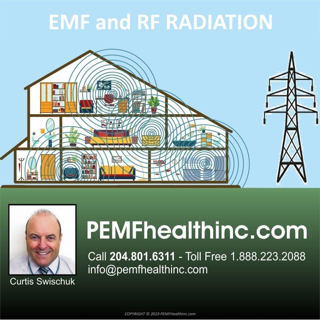 Household EMF and RF RADIATION- PEMF Health Inc.