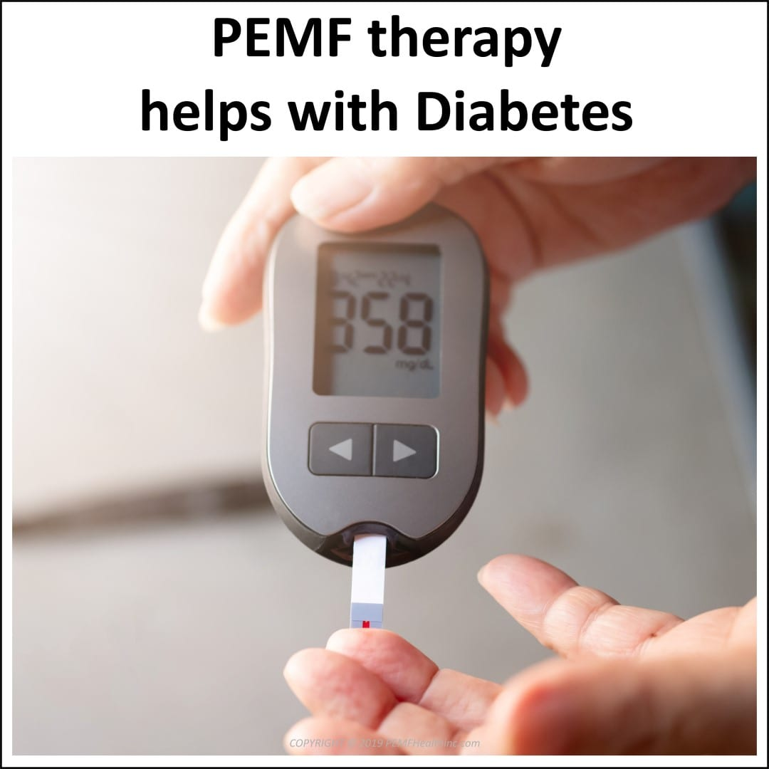 PEMF therapy helps with Diabetes- PEMF Health Inc.