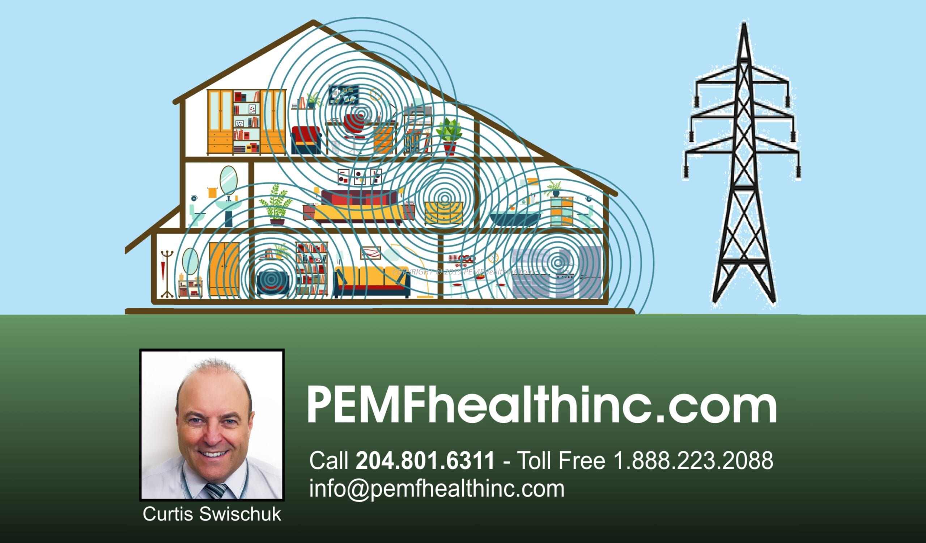 EMF/ RF & 5G household radiation- PEMF Health Inc.