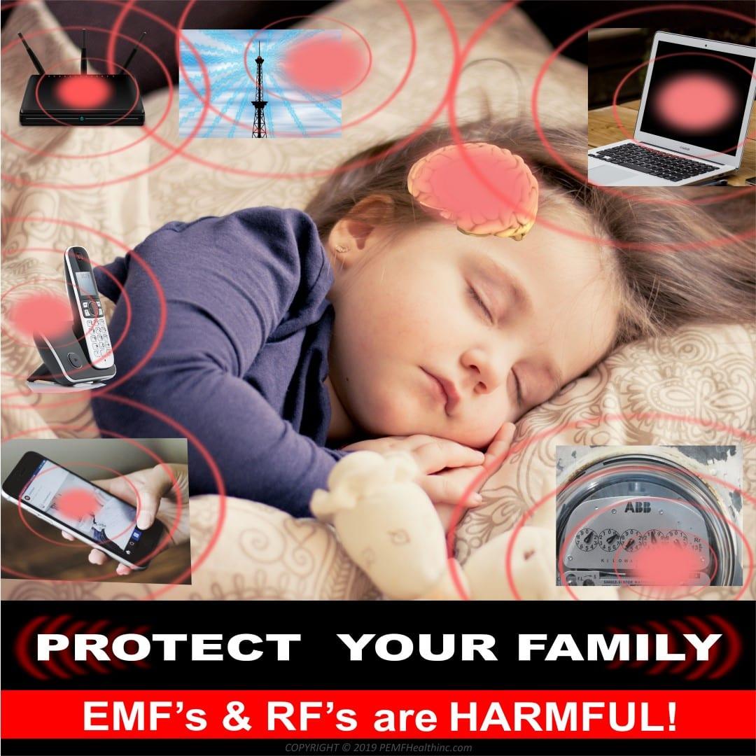 EMF and RF Radiation affecting child- PEMF Health Inc.